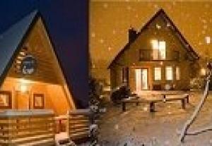 Całoroczne domki wypoczynkowe  w Bieszczadach nad Sanem dla wędkarzy,narciarzy i nie tylko!!