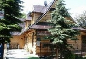 Góralski domek w centrum Zakopanego