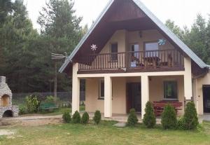Mazury, dom letniskowy z sauną