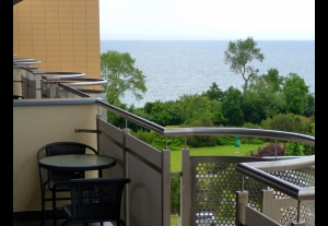 Apartamenty MORSKIE OKNO & SPA****widok na morze!baseny!sauny!jacuzzi!