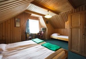 Pokoje gościnne w stylowym góralskim domu