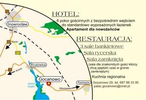 HOTEL RESTAURACJA PAŁAC GOCANOWO