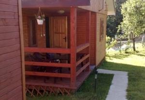 Domki  letniskowe nad Soliną,bieszczady,80m do jeziora