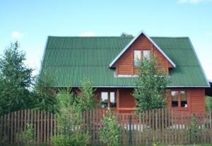 Kaszuby-Gowidlino-domek drewniany z kominkiem