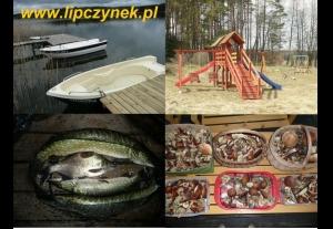 POMOST + ŁÓDKA + SILNIK GRATIS: domki