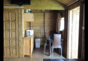 Drewniany Domek Campingowy