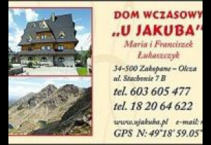Dom Wczasowy U Jakuba